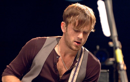caleb followill, vocalista de kings of leon